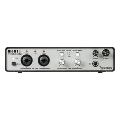 Steinberg UR-RT2 2-Ch USB Audio Interface w/ Rupert Neve Transformers + Software