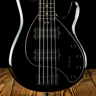 Music Man StingRay5 Special HH - Jet Black - Free Shipping