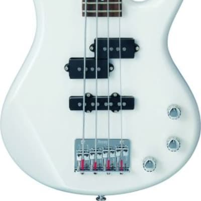 Ibanez GSRM20PW Gio Soundgear Mikro 3/4 Size Electric Bass Guitar Pearl White for sale