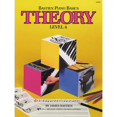 Bastien Piano Basics: Theory - Level 4 by James Bastien (Method Book)