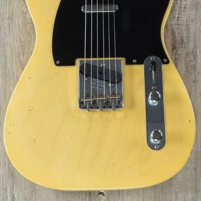 Fender Custom Time Machine 1951 Nocaster Journeyman Relic Telecaster Guitar Faded Blonde for sale