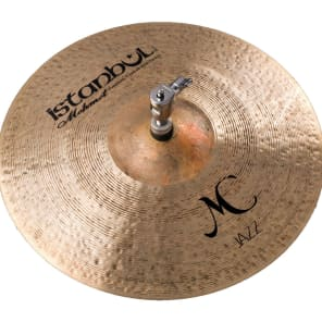 "Istanbul Mehmet 14"" MC Jazz Hi-Hat Cymbals (Pair)"