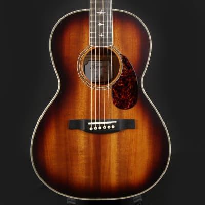 Paul Reed Smith PRS P20 Tobacco Sunburst Parlor Acoustic Guitar (D16984)