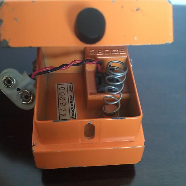vintage boss ds 1 distortion pedal mij 80 39 s reverb. Black Bedroom Furniture Sets. Home Design Ideas