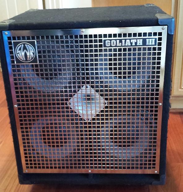 Swr Goliath Iii 2003 Bass Cabinet 4x10 Reverb
