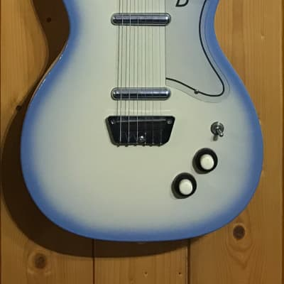 Danelectro 56 U2 Blue Burst 1990's for sale