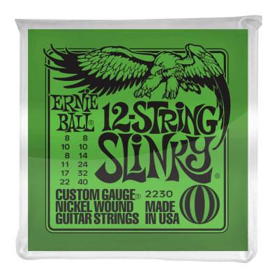Ernie Ball 12-String Slinky Nickel Wound Electric Guitar Strings