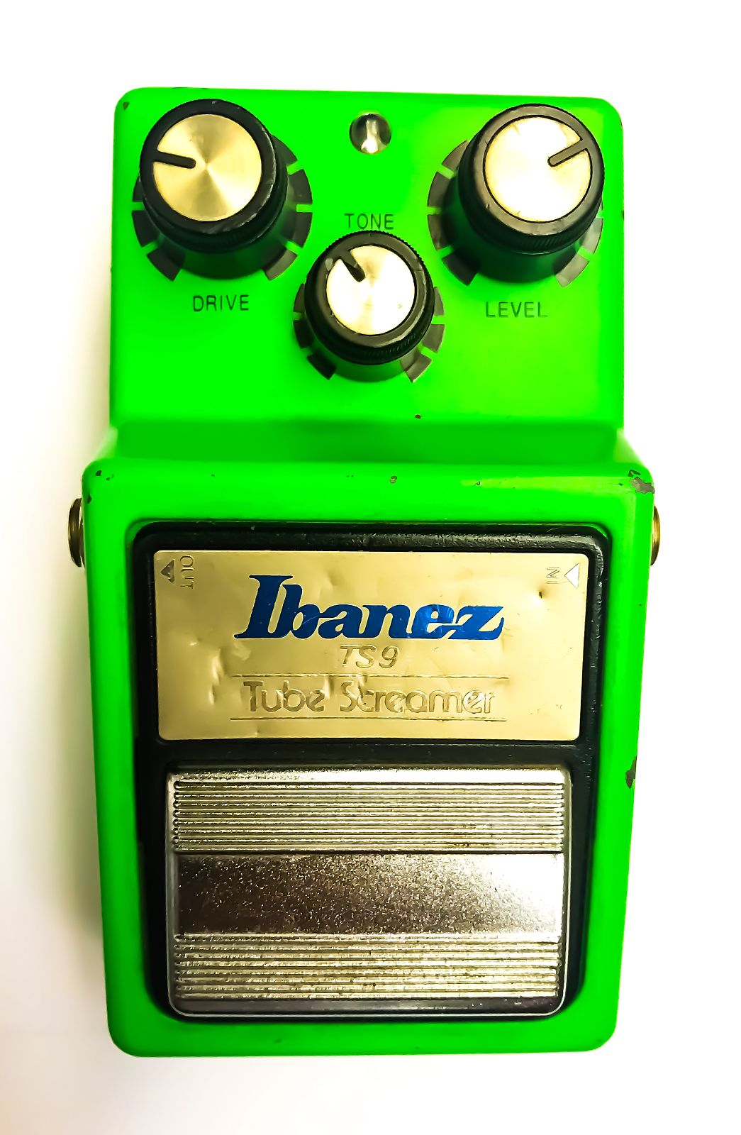 Ibanez Tube Screamer TS9 80s, 1983/1984 Green/Verde & metal