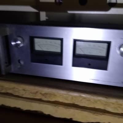 Pioneer Spec4 Power Amp1976  Silver 120/120 A Side Rare