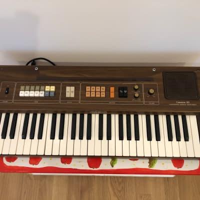 Original 1981 Casio CT-301 Casiotone 49-Key Synthesizer, Plays Great!