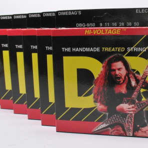DR DBG-950 Dimebag Darell Signature Nickel-Plated Electric Guitar Strings - Light/Heavy (9-50)