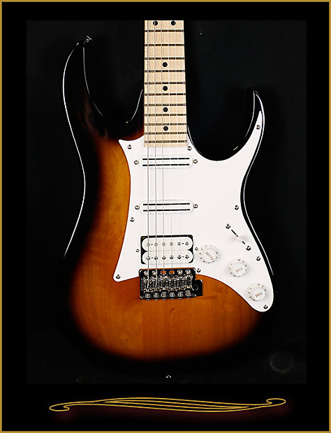Ibanez Andy Timmons AT10P Sunburst | The Guitar Sanctuary on