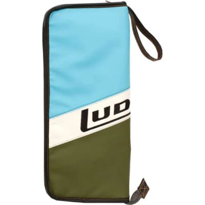 Ludwig LX31BO Atlas Classic Heirloom Stick Bag, Blue Olive