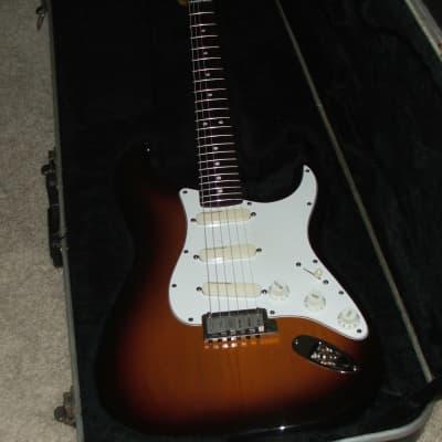 Vintage Fender Strat Plus 1988 Sunburst Stratocaster for sale