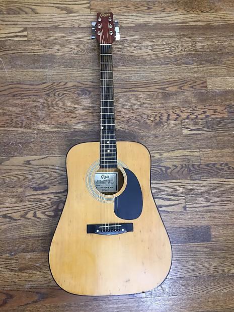 Vintage C F  Martin Goya G3 acoustic guitar 1972 Ugly Duckling!