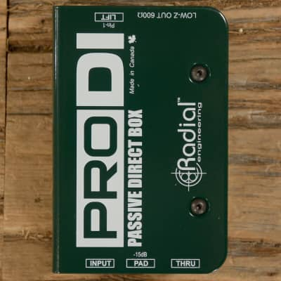 Radial Pro-DI Passive Direct Box MINT