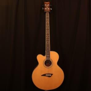 Dean EABC-L Cutaway Acoustic-Electric Lefty Bass Natural