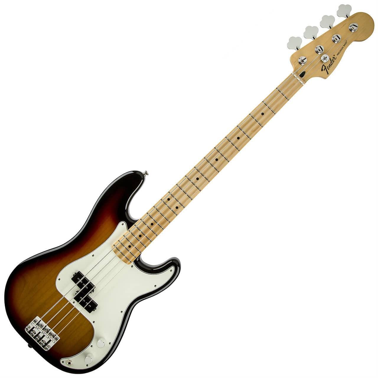 fender standard precision bass guitar maple brown sunburst reverb. Black Bedroom Furniture Sets. Home Design Ideas
