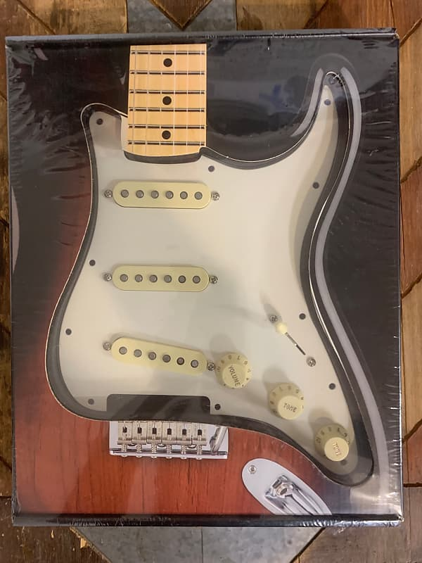 fender pre wired strat pickguard original 39 57 39 62 reverb. Black Bedroom Furniture Sets. Home Design Ideas
