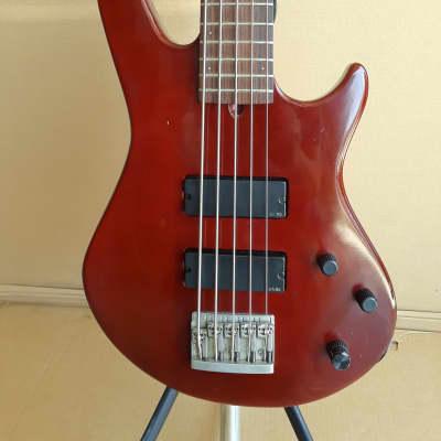 Godin BG-V 5 String Bass Guitar 1997  w/Case for sale