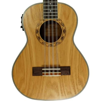 Freshman UKASHTE8 Ash 8-String Tenor Ukulele with Pickup and Tuner for sale