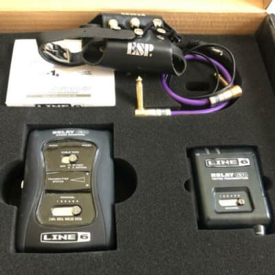 Line 6 Relay G30 6-Channel Wireless Guitar System 2000s Black