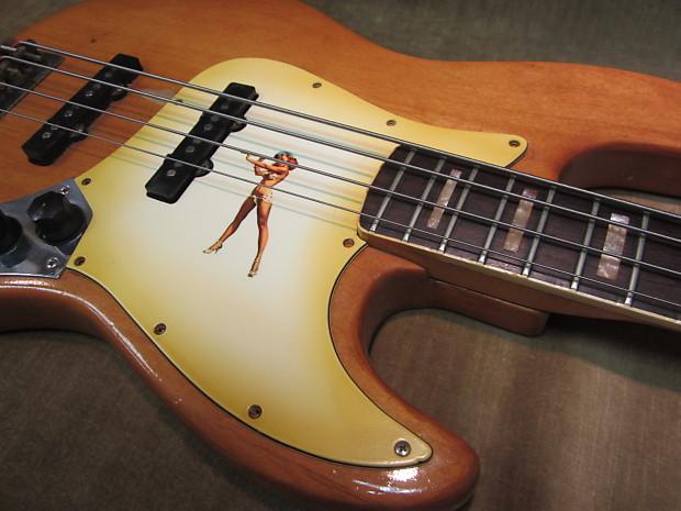 fender jazz bass custom shop 50 39 s pinup girl lacquer reverb. Black Bedroom Furniture Sets. Home Design Ideas