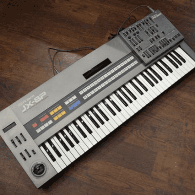 Roland JX-8P with PG-800 Programmer