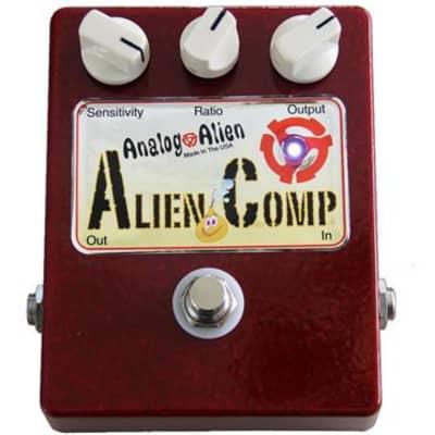 Analog Alien Alien Comp Compressor Guitar Effect Pedal (Used/Mint)