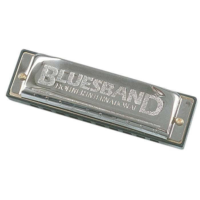 Hohner 1501BX-C Bluesband Harmonica Key of C
