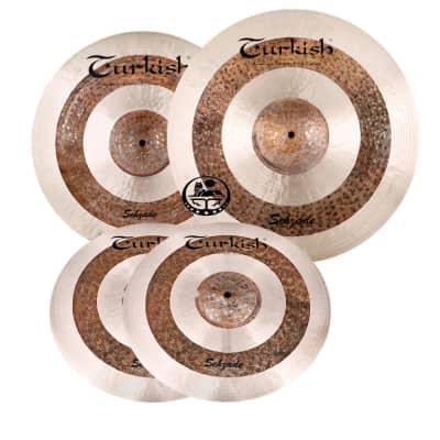 Turkish Sehzade Cymbal Pack Box Set (14HH-16C-20R)
