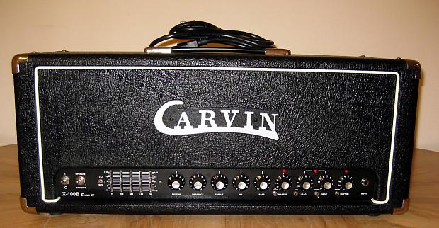 carvin x100b series iv reissue guitar amp head foot reverb. Black Bedroom Furniture Sets. Home Design Ideas