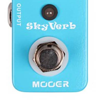 Mooer MRV2 SkyVerb Digital Reverb Guitar Effects Pedal
