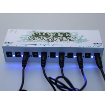 NEW F-1 Guitar Effect Pedals Power Supply 8 Way DC 9V & 1 Way DC 12V & 1 Way 18V