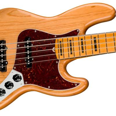 Fender American Ultra Jazz Bass V Aged Natural 2019 for sale