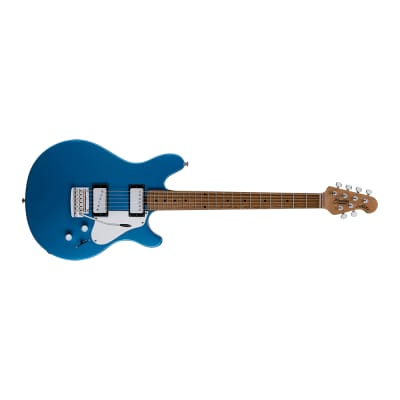 Sterling by Music Man James Valentine JV60T Electric Guitar, Toluca Lake Blue