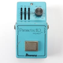 Ibanez PQ-401 Parametric Equalizer 1980s Blue image