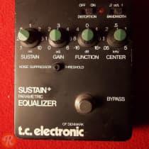TC Electronic Sustain + Parametric Equalizer 1980s Black image