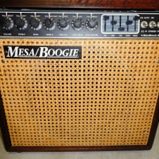 Mesa Boogie Mark III Red Stripe Hardwood Combo wicker DRG mark 3