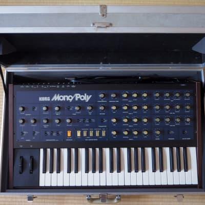 Korg Mono/Poly Modypoly MIDI, serviced and calibrated ! 110V ~ 240V Original Hard Case !