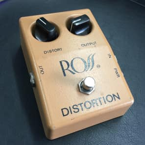 Ross Distortion Pedal
