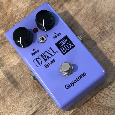 Vintage Guyatone PS-106 Dual Octave Pedal Purple for sale