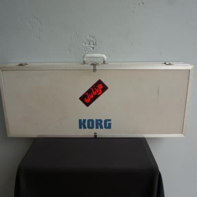 KORG Hard Protective Road Travel Gig Case for PolySix OR Similar Synthesiser