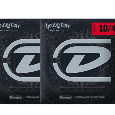 Dunlop Heavy Core 10-48 Heavy Electric Guitar Strings 2-Pack