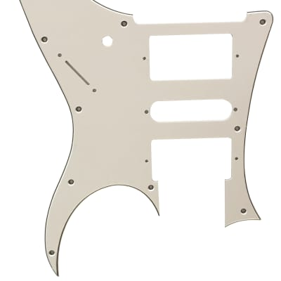 For Ibanez 3-Ply RG 350 EX Style Guitar Pickguard Scratch Plate, White