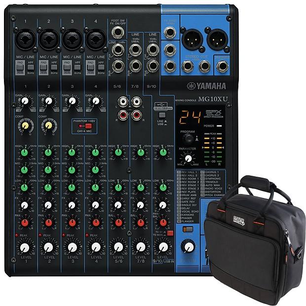 407fd44eae Description  Shop Policies. Yamaha MG10XU 10-Channel Analog Mixer Features