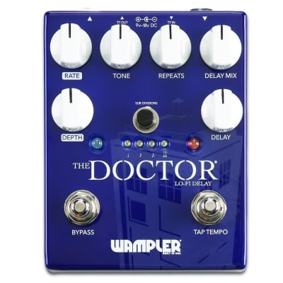 Wampler The Doctor Lo-Fi Delay Pedal for sale