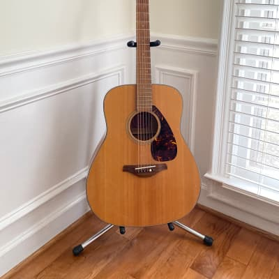 Yamaha FG 700s Dreadnought Acoustic Guitar 2010 Natural Blond for sale