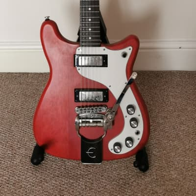 Epiphone Wilshire Worn Cherry Tremotone 1966 Reissue for sale