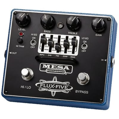 Mesa/Boogie Flux-Five Overdrive Pedal with 5-Band EQ for sale